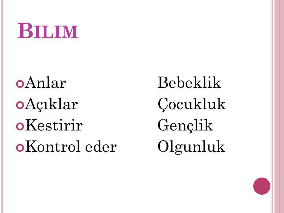 A NLAMLı D EĞIL !!.