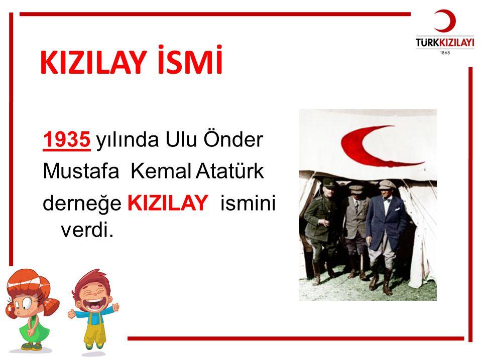 Türkiye'de Türkiye Kızılay Derneği , Türk Kızılayı ve Kızılay adı altında tek bir dernek kurulabilir.