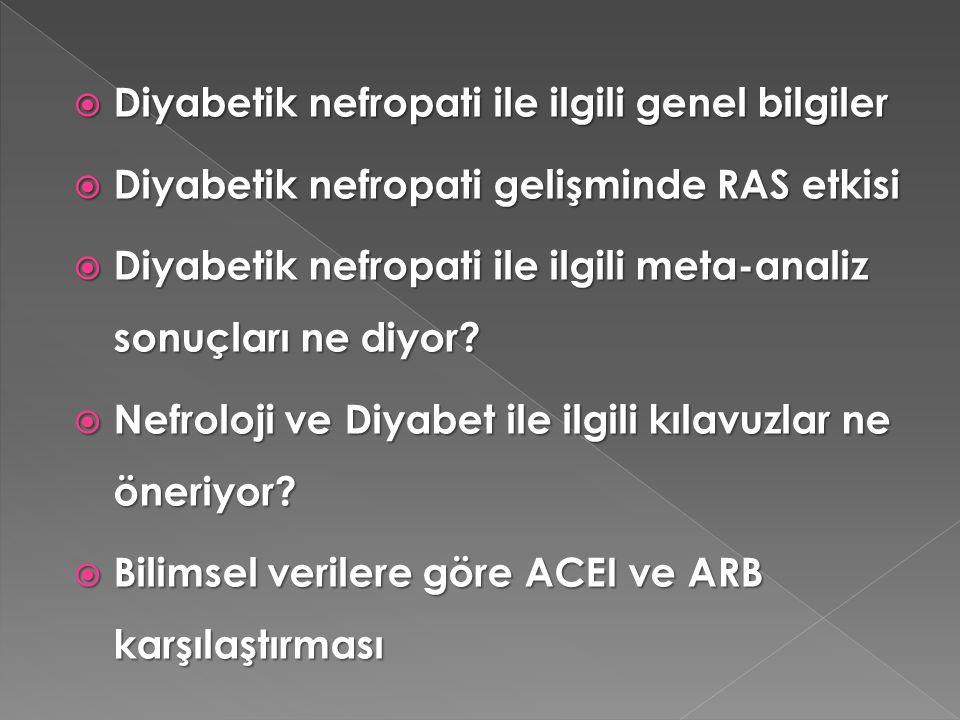 Afferent arteryal basıncı etkileyenler  Hiperglisemi  ANP ve Ekstraselüler basınç artışı  NO ve diğerleri (VEGF,leptin,inzulin)  Azalmış TGF aktivitesi  Vasodilatör PG'ler  Glukagon  Erken glikozilasyon ürünleri  Afferent kalsiyum kanallarında azalma  Büyüme hormonu ve IGF-I Efferent arteryal basıncı etkileyenler  Angiotensin II  Endotelin  Vasokonstriktif prostanoidler Diğerleri  PKC