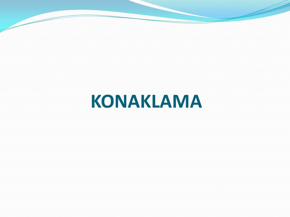 KONAKLAMA