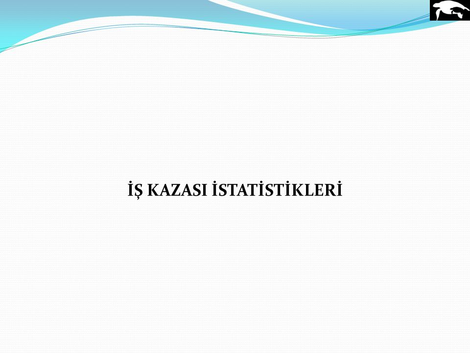 İŞ KAZASI İSTATİSTİKLERİ