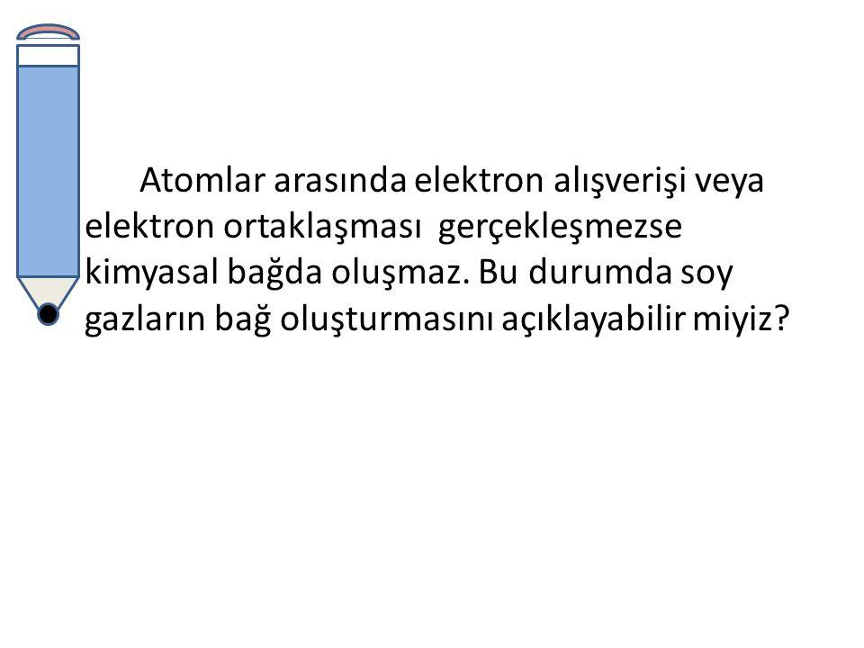 Helyumun son katmanında iki diğer soy gazların son katmanında ise sekiz elektrondan daha fazla elektron bulunmaz.