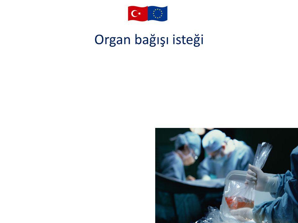 Organ bağışı isteği 25