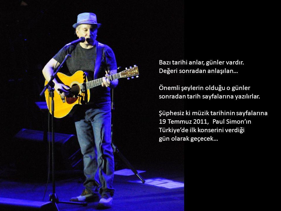 PAUL SIMON İstanbul konseri – 19.07.2011 Konser fotoğrafları ve sunum : Öykücü