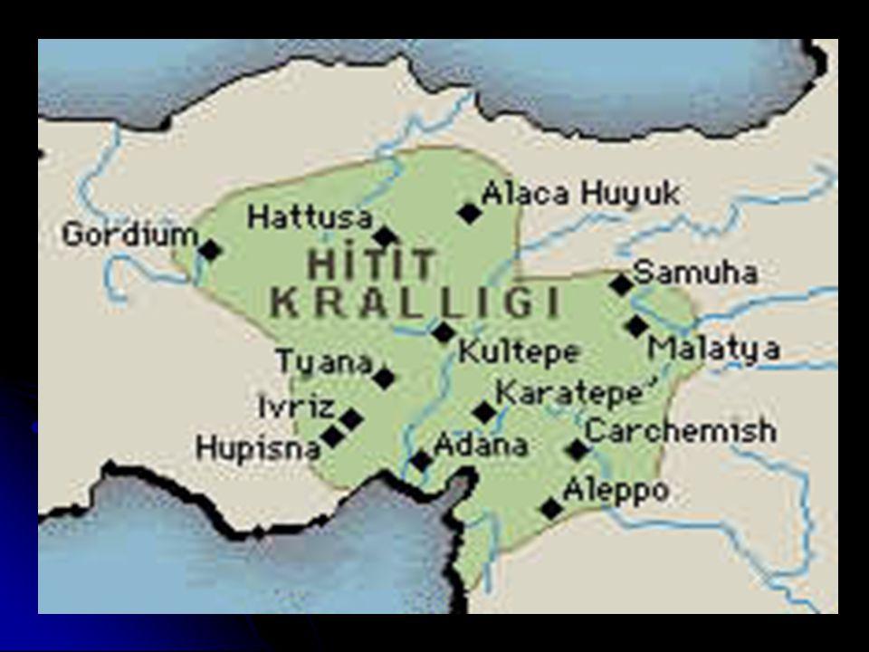 • Boğazköy, M.Ö.1200 yıllarına kadar Hititler in başkenti olma özelliğini korumuştur.