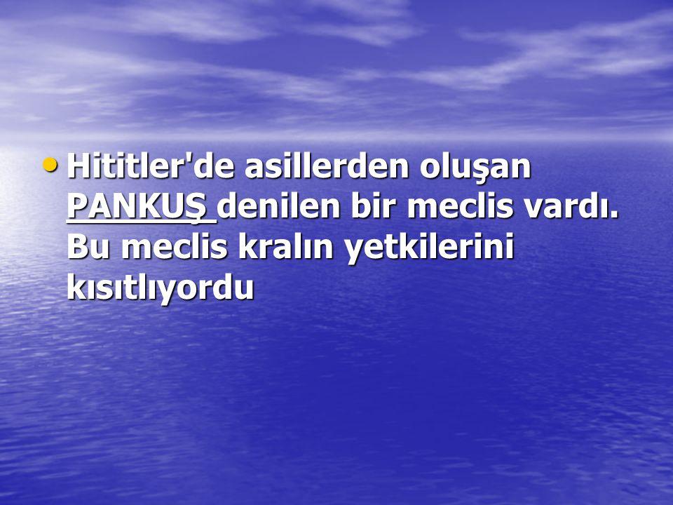 (Öss/1991) Hitit Krallığı, feodal beyliklerden oluşmuş bir devletti.Daha sonraları bu beylikler kaldırılmış, yerlerine valiler atanmıştır.