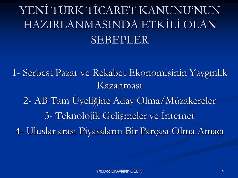 GÜVENLİ ELEKTRONİK İMZA  Tacirler arasında yapılan ilan/ihbarlarda (TTK m.18/3)  Cari hesap sözleşmelerinde bakiyeye itiraz edilmesinde (TTK m.94/2)  Şirketin temsilinde (TTK m.