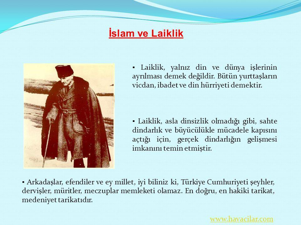▪ Arkadaşlar, efendiler ve ey millet, iyi biliniz ki, Türkiye Cumhuriyeti şeyhler, dervişler, müritler, meczuplar memleketi olamaz. En doğru, en hakik