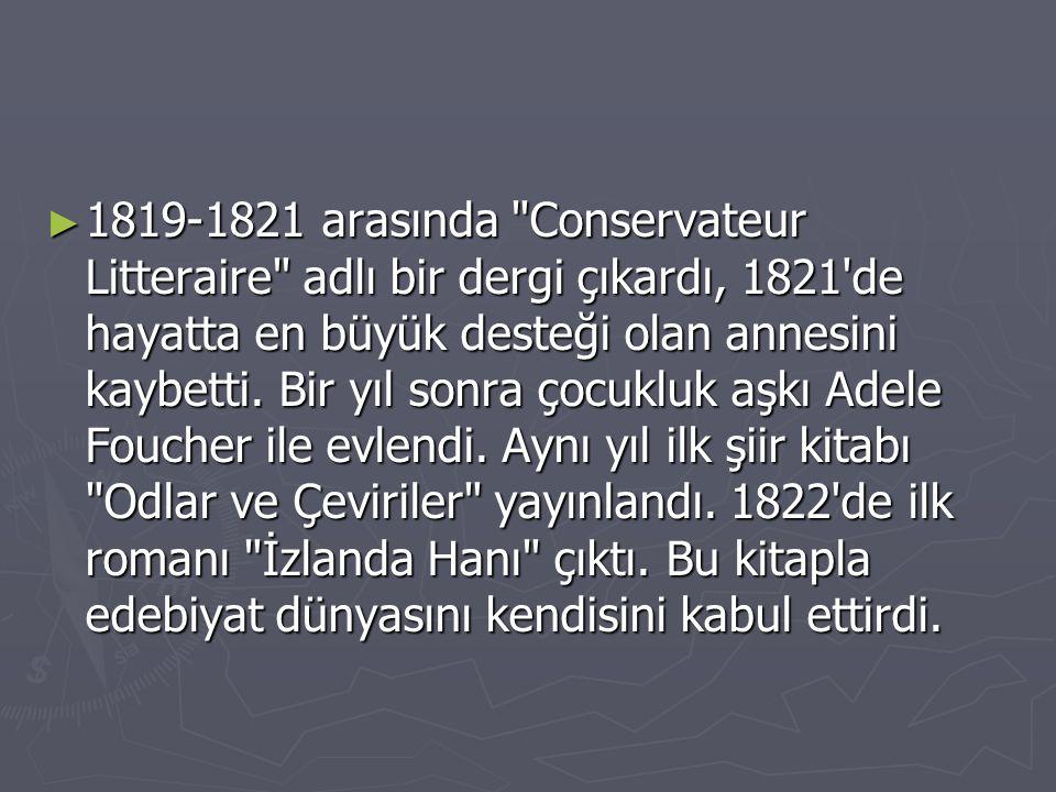 ► 1819-1821 arasında