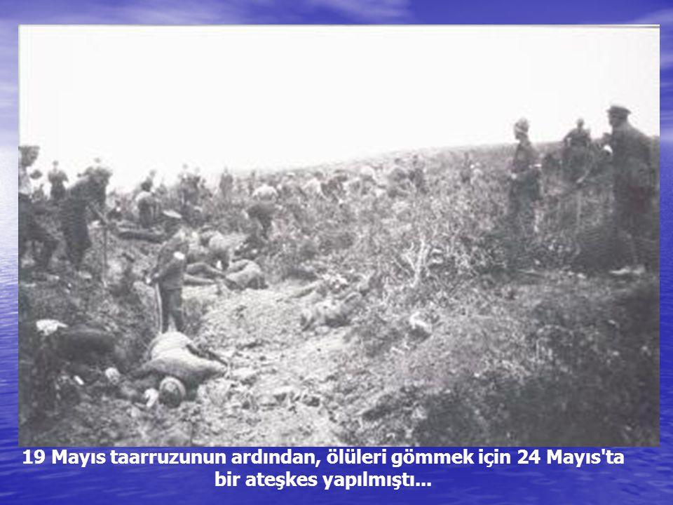 Çanakkale deniz savaşlarında 215 okkalık (275 kg) top mermisini sırtında taşıyan er Edremit-Havranlı Mehmet oğlu Seyyit Onbaşı... Dağ doğruldu, su kab