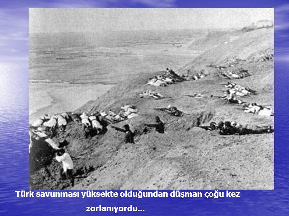 19 Mayıs taaruzunda şehit olan Türk askerlerinin ölüleri 24 Mayıs'taki ateşkeste toplanıyor...
