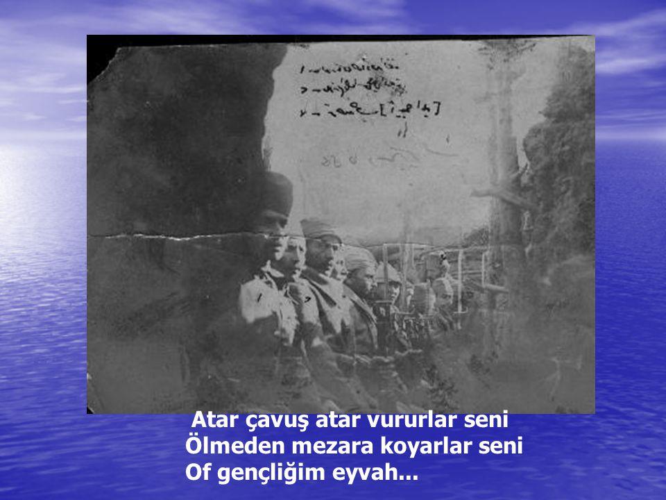 Ve Mustafa Kemal Ananafartalarda...