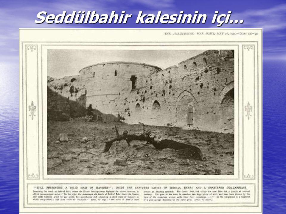 Gelibolu'nun ölüm saçılmış kırları...
