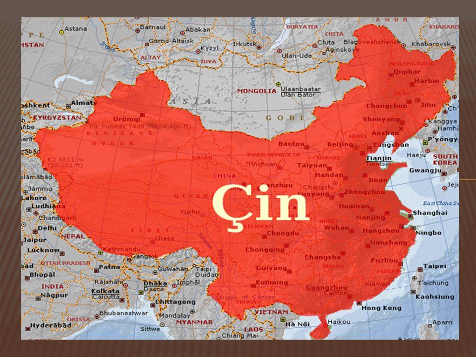 1) Tarihsel süreç İçinde Türkiye-Çin İlişkileri  İlişkiler 1971 yılında Türkiye'nin ÇHC'ni tanıması ile başlar.