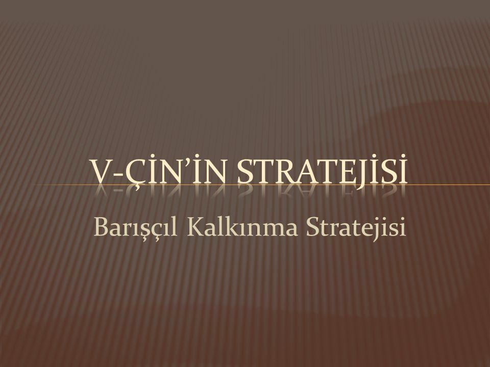 Barışçıl Kalkınma Stratejisi