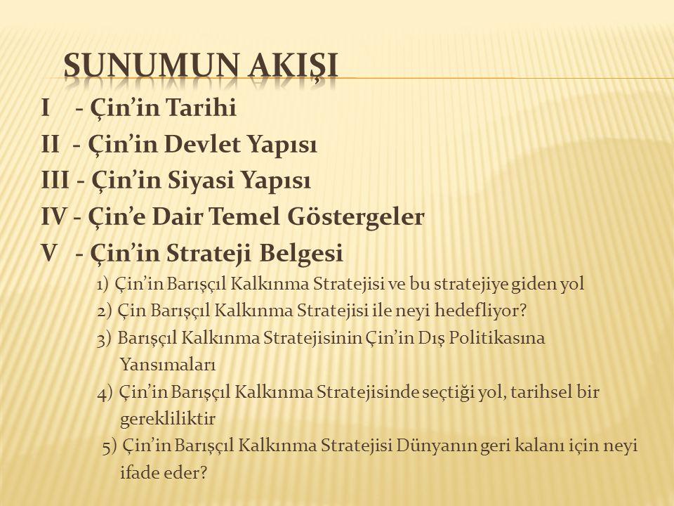  3) Devlet Konseyi (DK): Merkezi halk hükümeti olan DK, UHK ve UHK Daimi Komitesi tarafından yapılan yasaları ve kararları uygular.