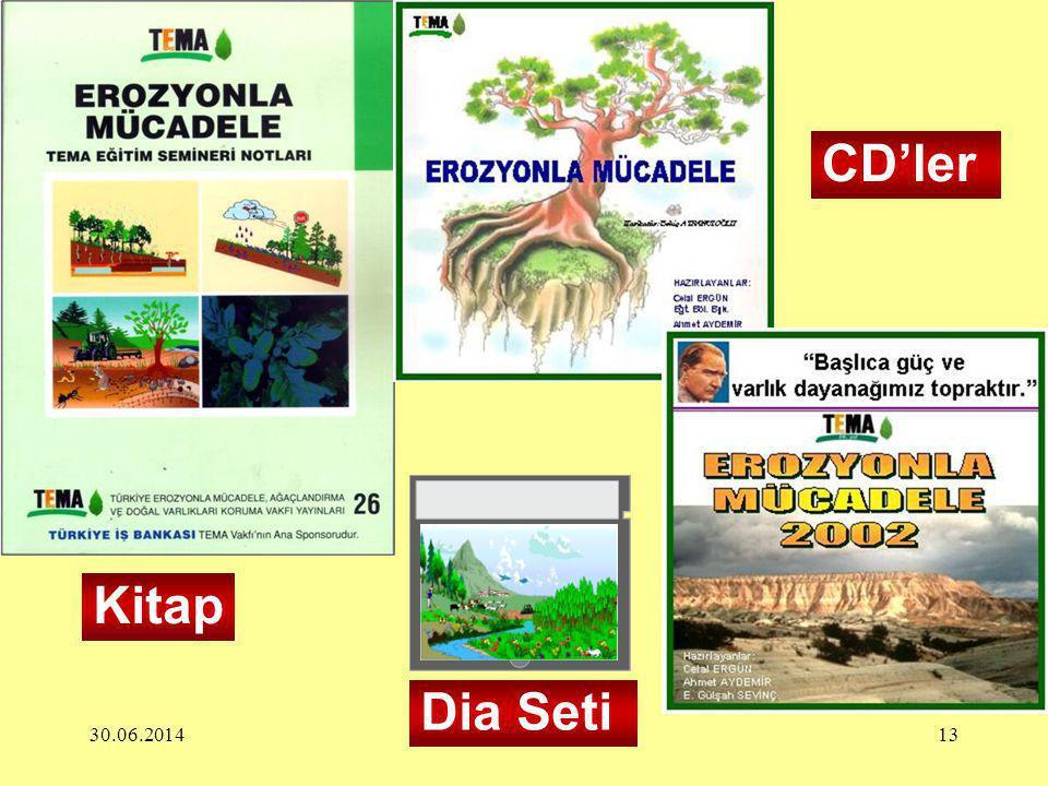 30.06.201413 Dia Seti Kitap CD'ler