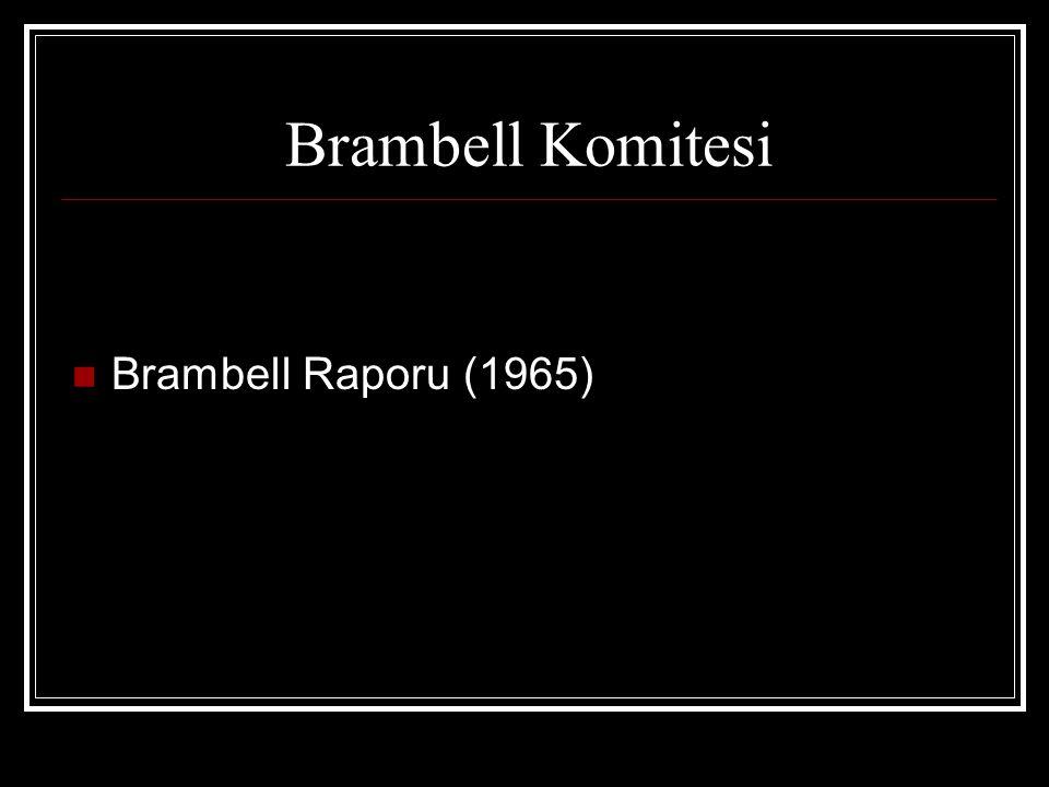 Brambell Komitesi  Brambell Raporu (1965)