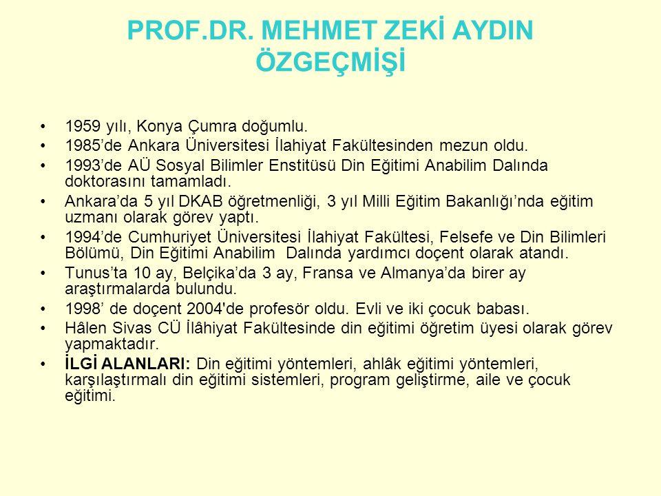 Öğretme öğrenme süreçleri ve öğretmen öğrenci iletişimi www.mehmetzekiaydin.com