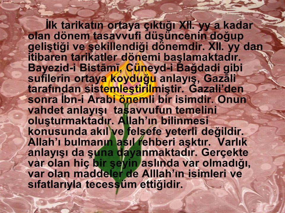 Divan şiirindeki na tlarda dini ve tasavvufi unsurlar Osman Kavalcı Danışman: Prof.Dr.