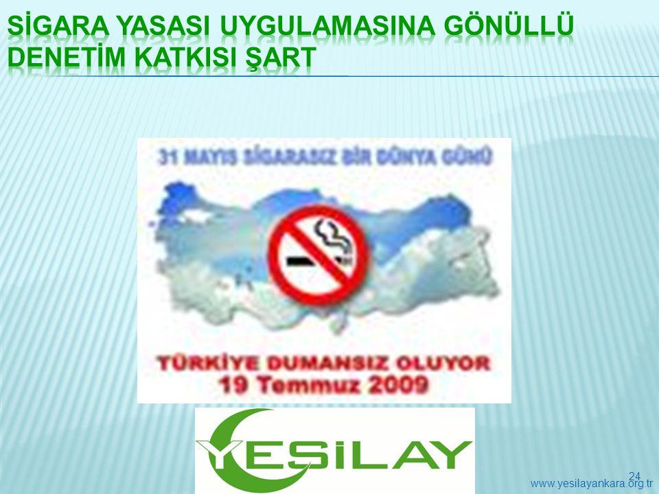 24 www.yesilayankara.org.tr