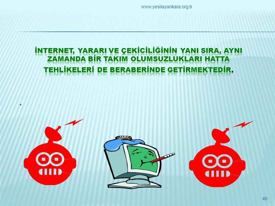 . 46 www.yesilayankara.org.tr