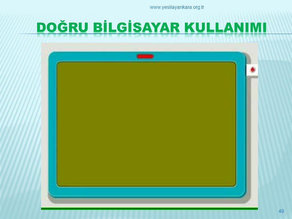 49 www.yesilayankara.org.tr