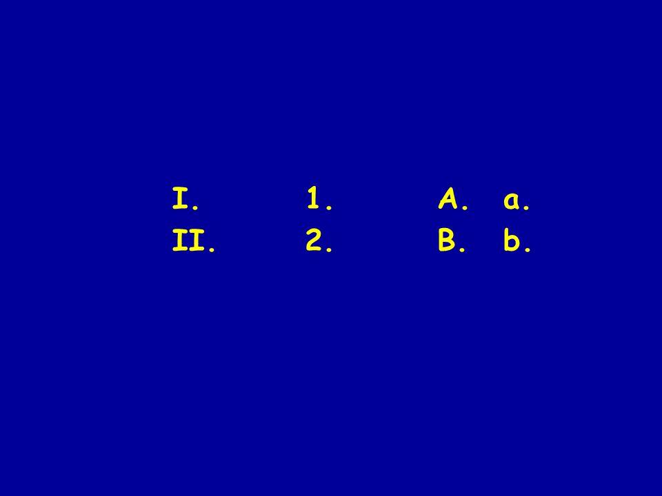 I.1.A.a. II.2.B.b.