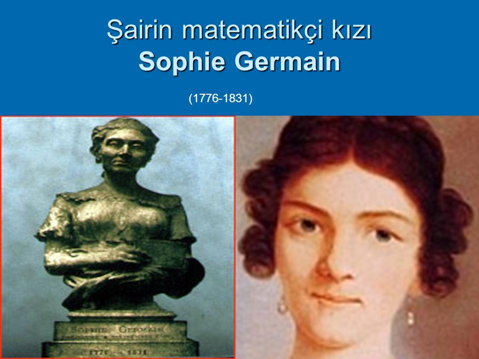 10 Şairin matematikçi kızı Sophie Germain (1776-1831)