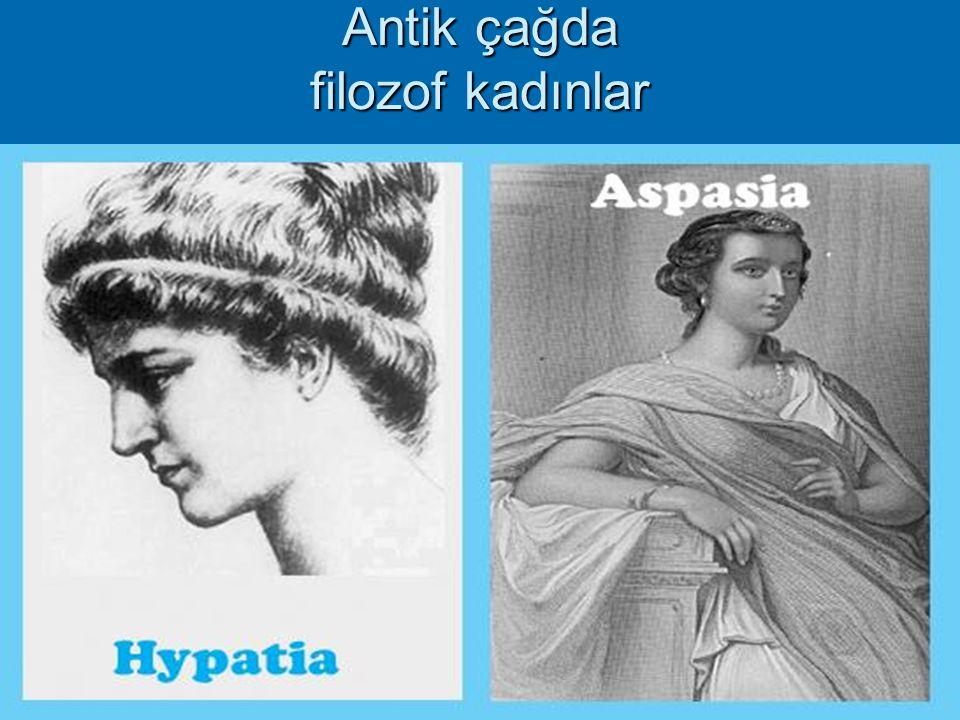 2 Antik çağda filozof kadınlar
