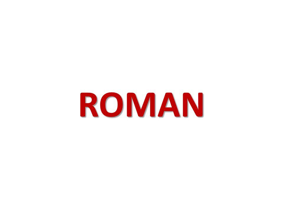 ROMAN Türk Edebiyatında ilk realist roman ve yazarı