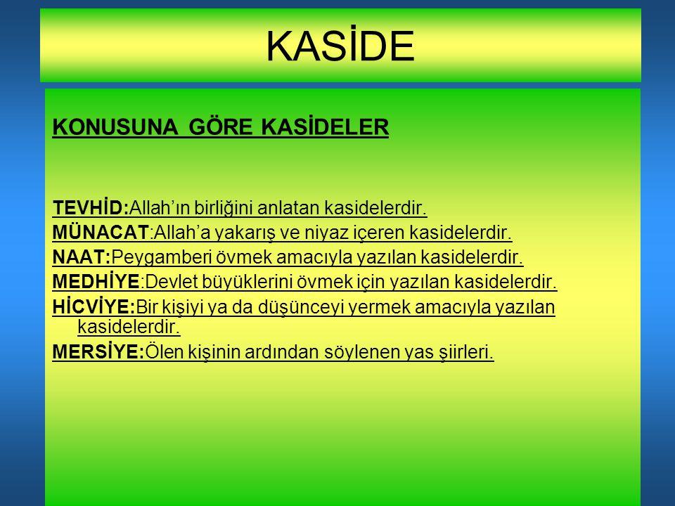 KASİDE (SULTAN 1.