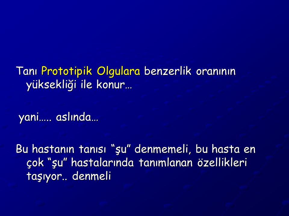 Türkiye'de Psikiyatrik Hastalık Sıklığı Ev Taraması Sonuçları Psikiyatrik hastalık sıklığı % 17 (Son 1 yıl) Psikiyatrik şikayetlerle hekime başvurma sıklığı % 13 Oysa, bu % 17 hastanın, % 44'ü dahili yakınmalarla doktora gidiyor..