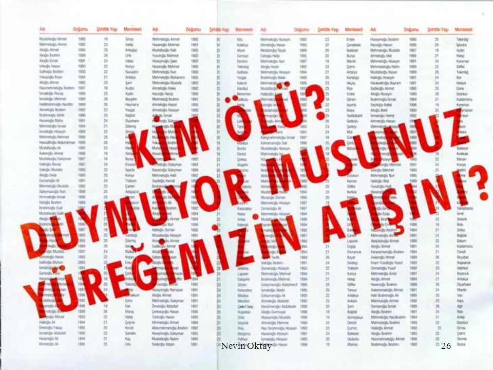 Nevin Oktay26