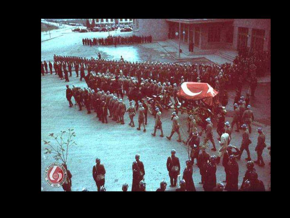 10 Kasım 1953'te Atamız Anıtkabir'e nakledilmiştir
