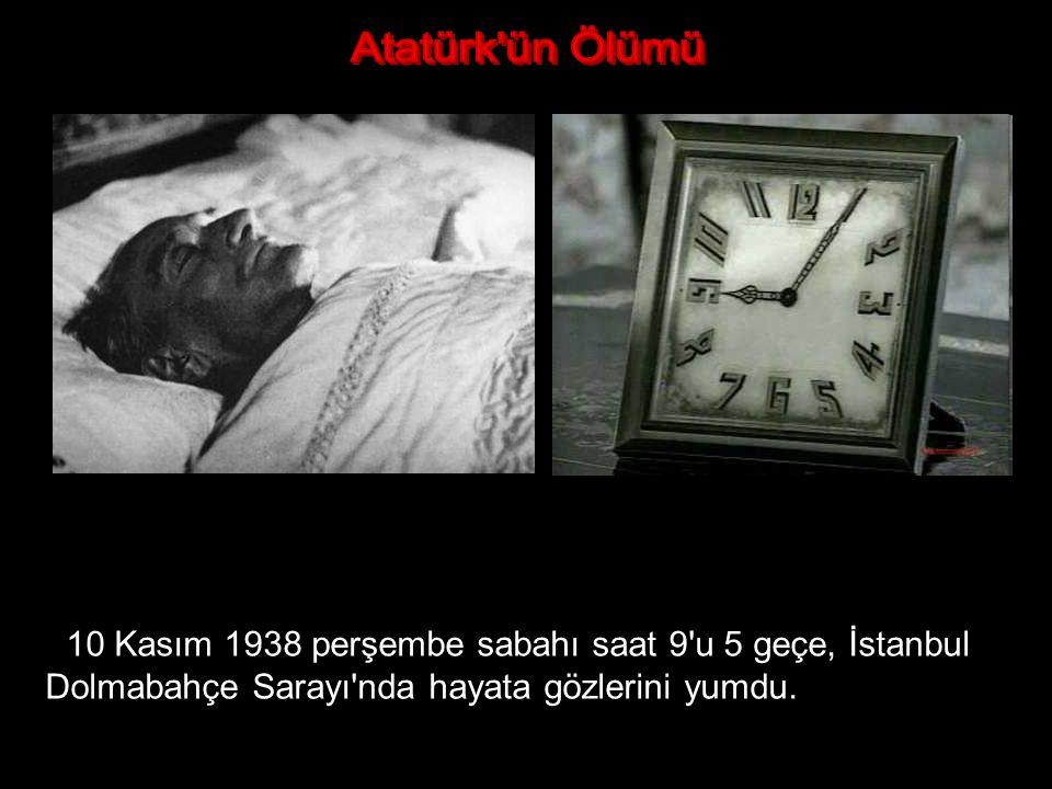 Atatürk'ün hastalığı, kasım ayının ilk haftasından itibaren normal seyrinden çıkarak şiddetlendi. 8 Kasım'da Dolmabahçe Sarayında son bir komaya daha