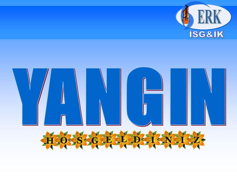 B- HAVAYI KESME Yangının oksijenle temasının kesilmesi veya azaltılması amacıyla yapılan işlemdir.