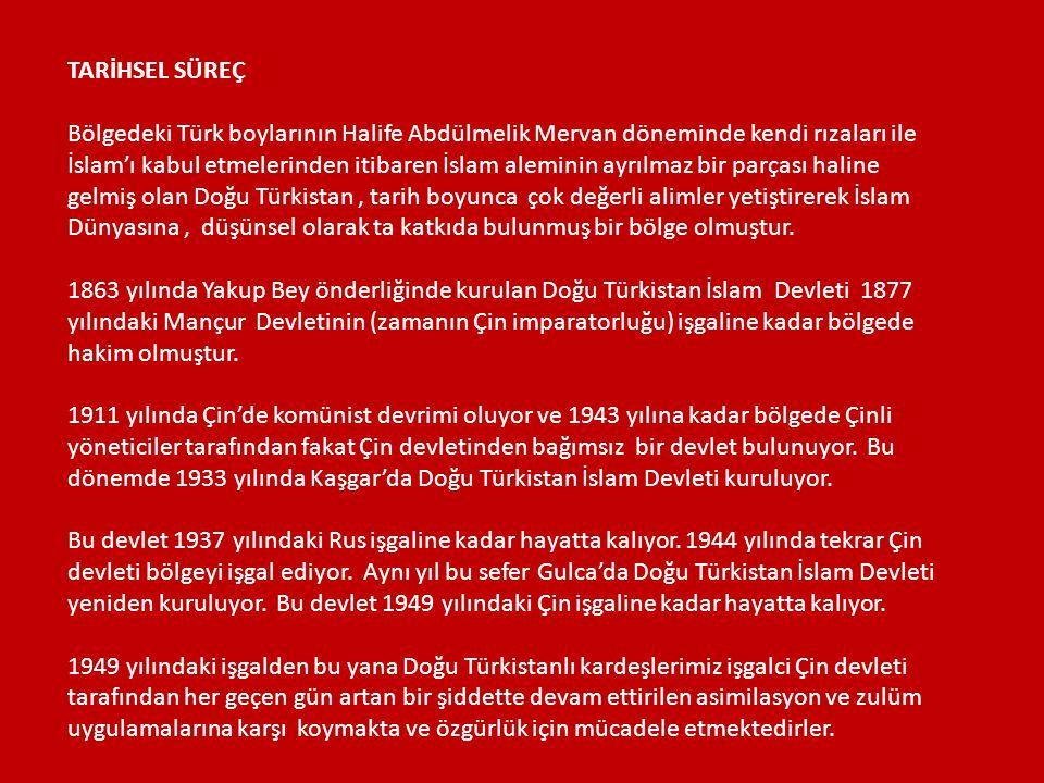TARİHSEL SÜREÇ Bölgedeki Türk boylarının Halife Abdülmelik Mervan döneminde kendi rızaları ile İslam'ı kabul etmelerinden itibaren İslam aleminin ayrı