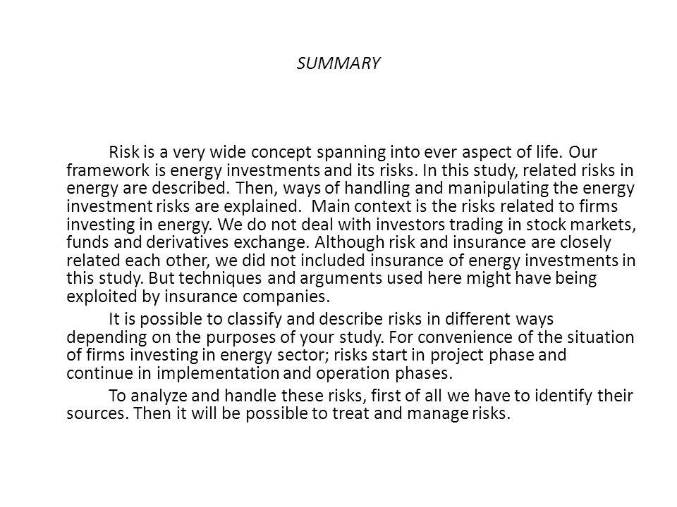 6.Teknoloji riski: En önemli risklerden birisidir.