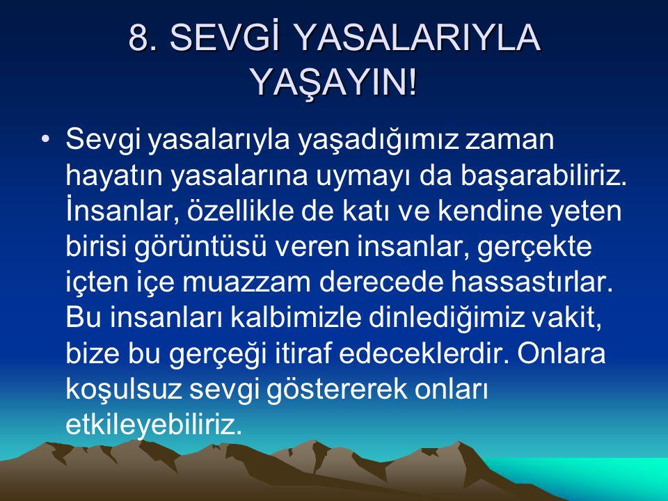 29.ONLARI HASAT KANUNUYLA EĞİTİN.
