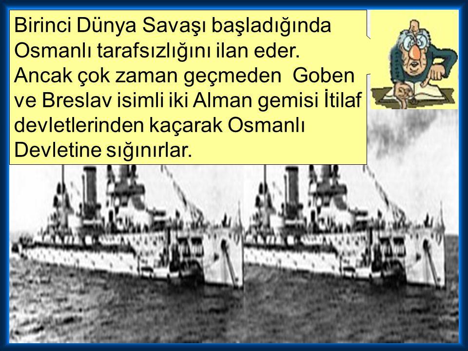 Aşağıdakilerden hangisi Osmanlı Devleti'nin I. Dünya Savaşına katılma nedenlerinden biri değildir? A) Daha önce kaybettiği toprakları geri almak istem
