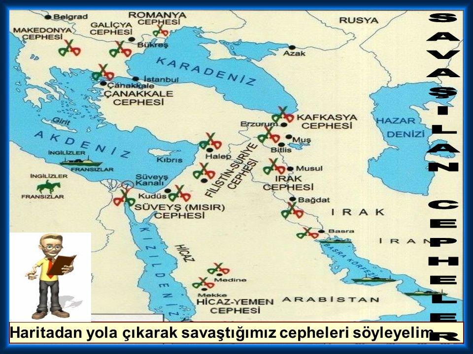 Osmanlı Devleti'nin Almanya yanında savaşa girmesi, I. Dünya Savaşı üzerinde aşağıdaki sonuçlardan hangisine neden olmuştur? A) Almanya'nın ekonomik y