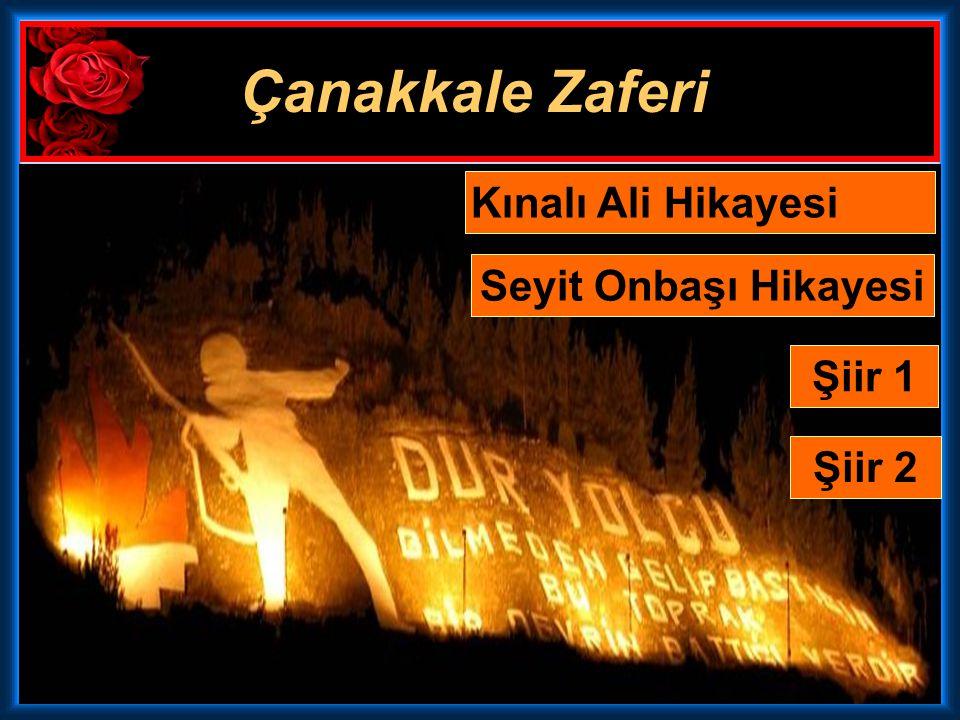 Çanakkale Muharebeleri, Mustafa Kemal (Atatürk) gibi askeri bir dahiyi yarattı, Birinci Dünya Harbi'nin bitiminden hemen sonra başlayacak olan Milli M