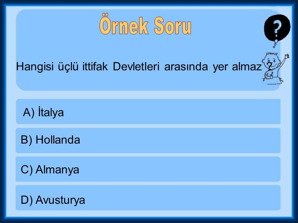 1-Osmanlı'nın savaştığı ilk taarruz cephesidir.
