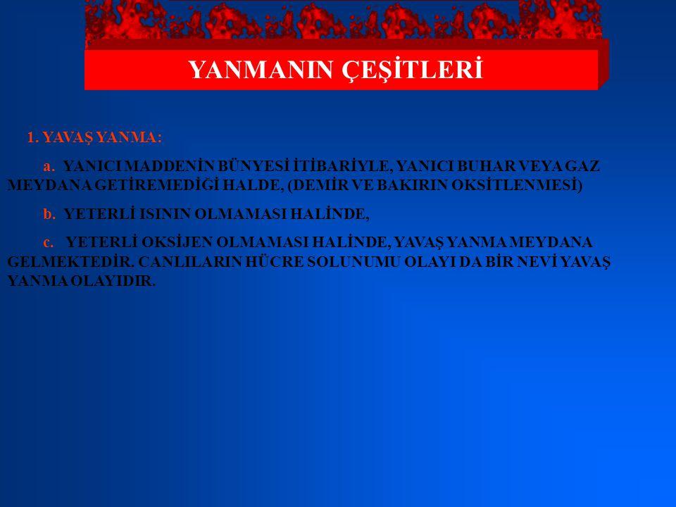 SÖNDÜRÜCÜ MADDELER KURU KİMYEVİ TOZLAR 2.