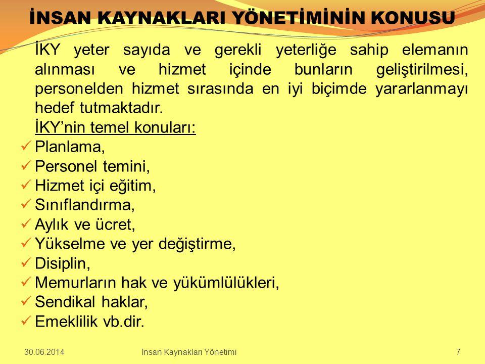 TÜRKİYE'DE SINIFLANDIRMA  Osmanlı İmparatorluğunun yönetimine katılanlar dört sınıfa ayrılmışlardır.