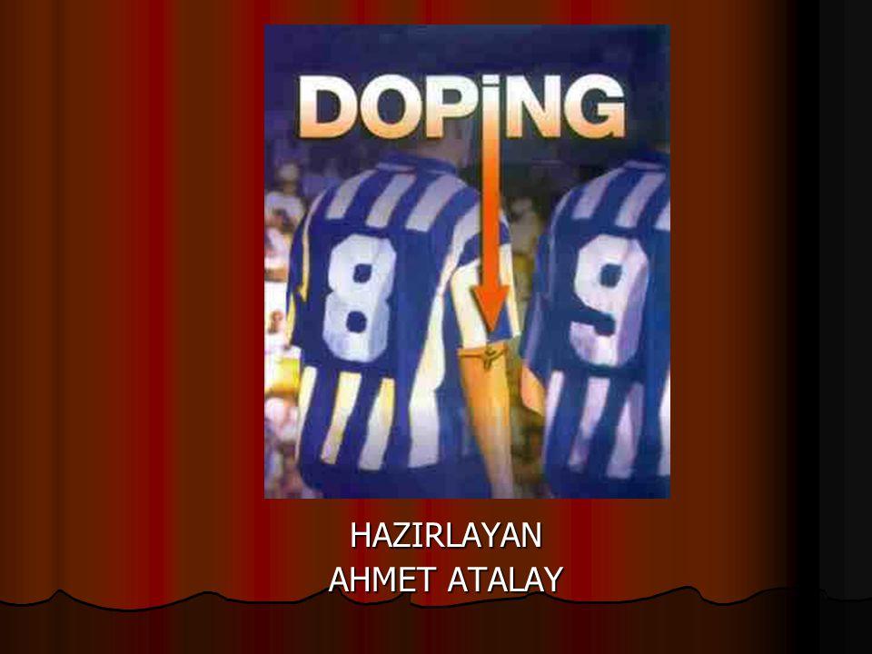 HAZIRLAYAN AHMET ATALAY