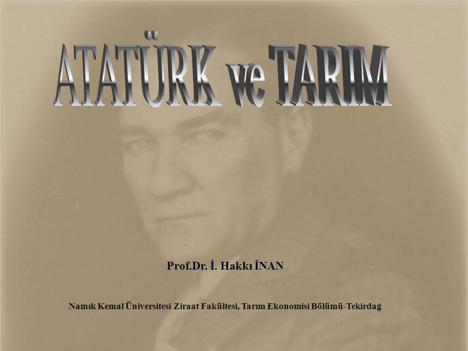 ATATÜRK'ÜN VİZYONU VE ÖNSEZİ YETENEĞİ •1907 yılında Atatürk, Musul ve Kerkük hariç bugünkü Türkiye haritasının neredeyse aynısını çizmiştir.