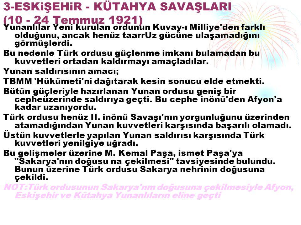 iTiLAF DEVLETLERi NiN BARIŞ TEKLiFLERi 22 Mart 1922 tarihinde itilat Devletleri Dışişleri Bakanları Türk ve Yunan taraflarına ateşkes teklifinde bulundular.