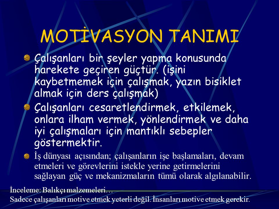 MASLOW'UN KURAMI 5.Kendini gerçekleştirme ihtiyacı 4.Saygı gösterme ve görme ihtiyacı 3.Sevgi ve ait olma ihtiyacı 2.Güvenlik ihtiyacı 1.Fizyolojik ihtiyaçlar